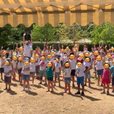 Centre aéré Leï Platano : une flashmob pour terminer juillet en beauté !