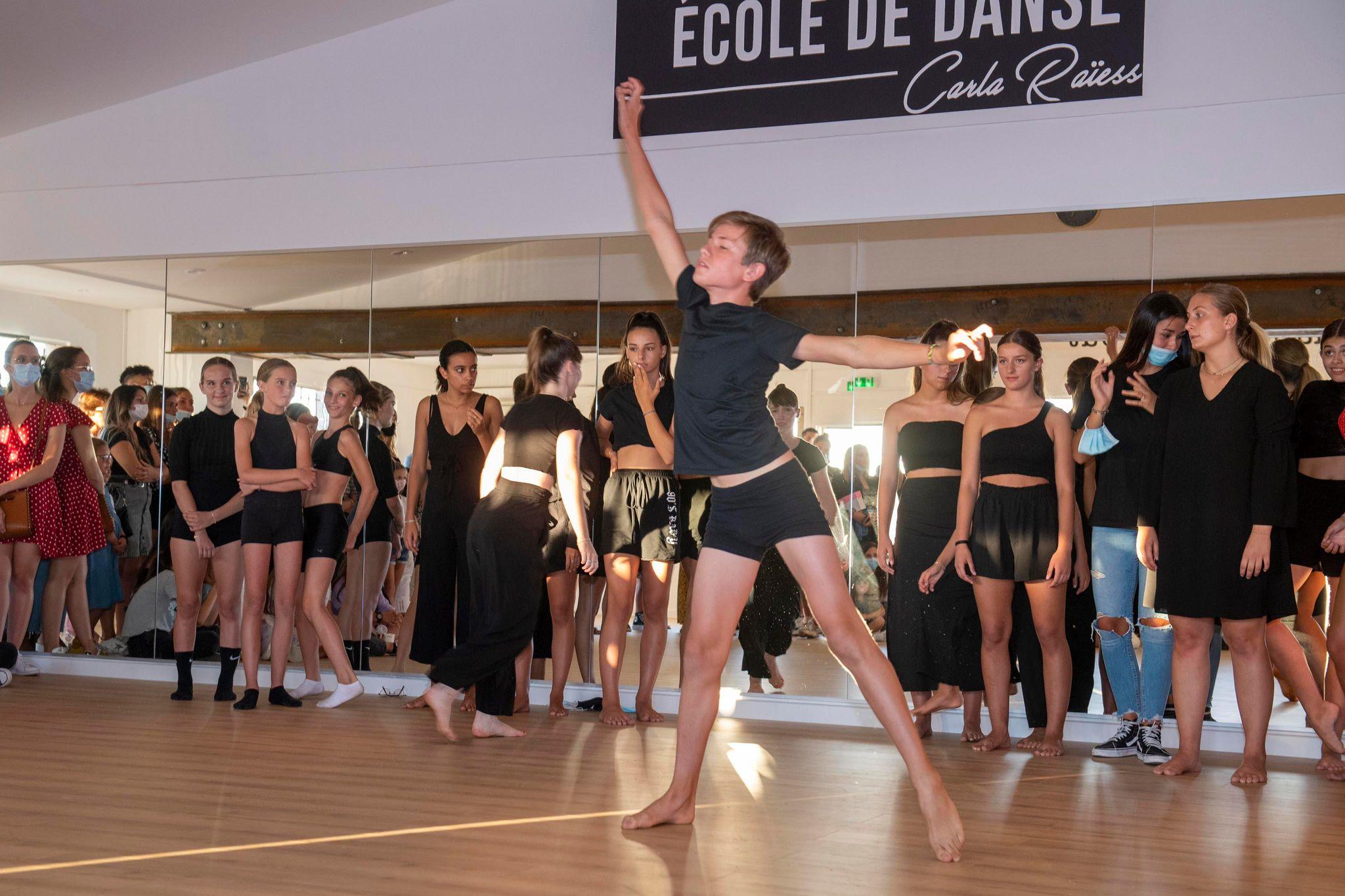 inauguration école de danse carla raiess ollioules