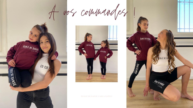 collection vêtements adultesde danse ecole carla raiess ollioules