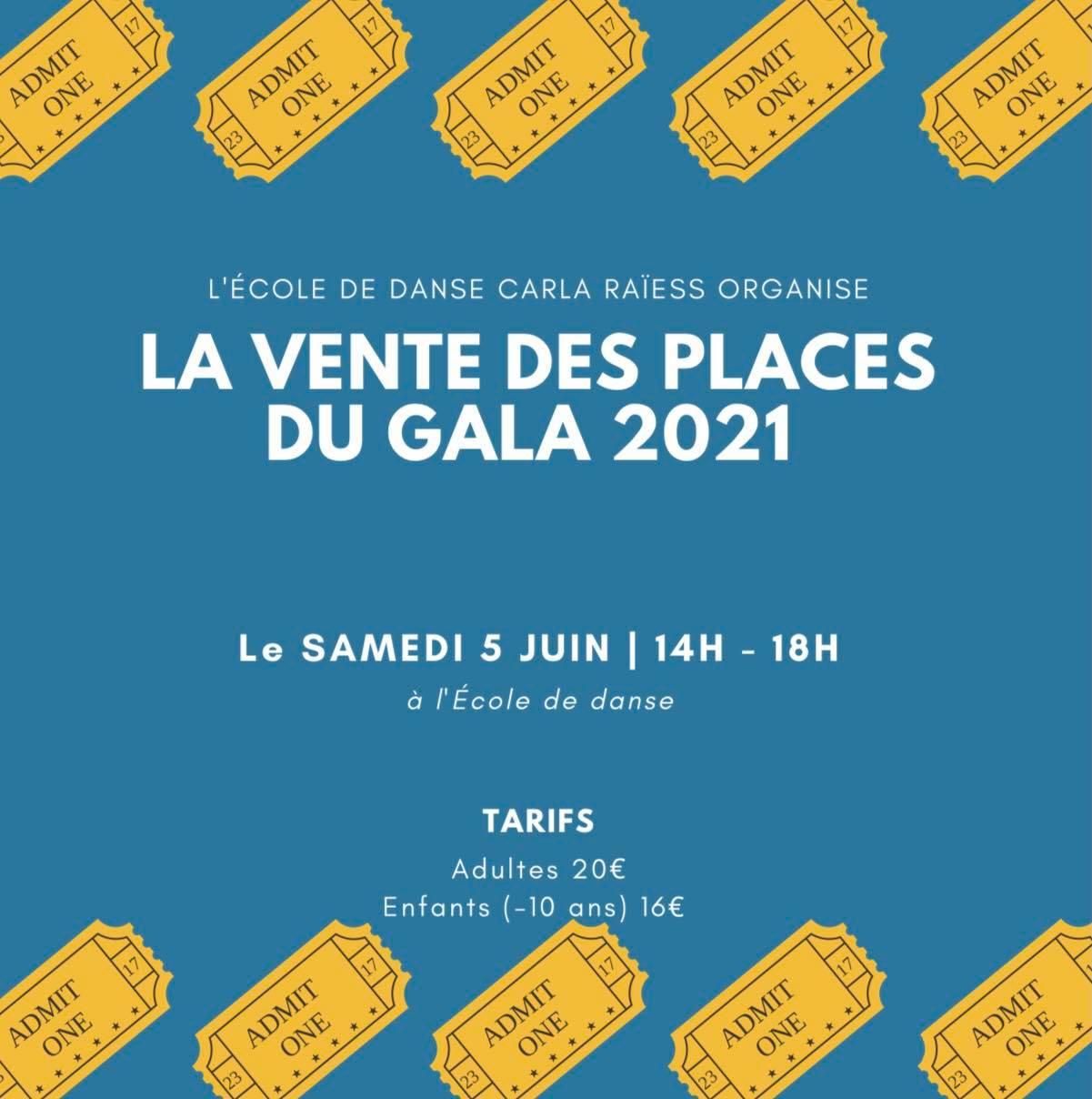 gala juin 2021 école de danse carla raïess à ollioules